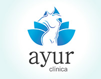 Clinica Ayur - Marca e WebSite