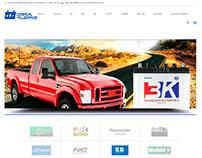 pagina web comercial de baterias