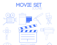 Movie Set icons