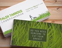 Personal Business Card / بطاقة الأعمال الشخصية