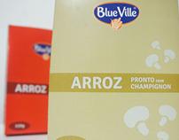 Arroz Blueville - Redesign de Embalagem