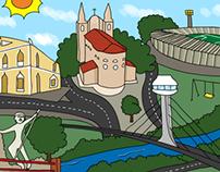 Illustration for Children's Book - Teresina