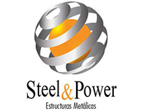 Logotipo steel power