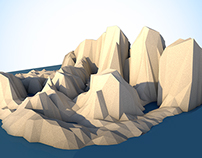 The Mountain Low-Poly