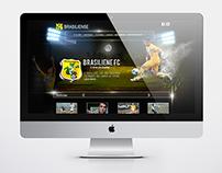 Novo layout Brasiliense Futebol Clube