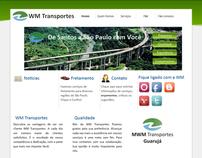 WM Transportes Web Site