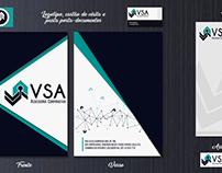 Identidade Visual - VSA Assessoria Corporativa