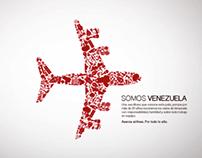 Aserca Airlines. Venezuela