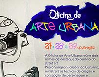 Cartaz Oficina de Grafitti