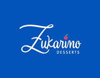 Imágen Corporativa Zukarino Desserts Panamá