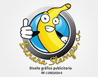 Logo Banana Stamps