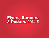 Flyers Posters & Banners 2014-2015