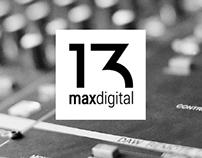 13 Max Digital - Branding