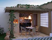 Projeto de Interiores: Deck.