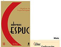 Projeto gráfico e diagramação - Cadernos CESPUC
