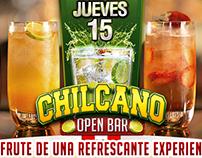 Festival Chilcano Open Bar