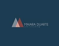 Identidade Visual Maiara Duarte Life Coach