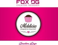 Logo Designer - Midelicias Brigateria Gourmet