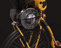 Modelado de motoneta / C4D