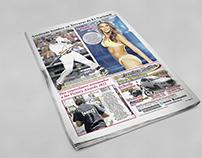 Diagramación de Diario- Diseño Editorial.