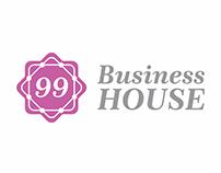 Logo para coworking feminino - 99 Business House