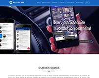 Sitio Web ServitrackGPS