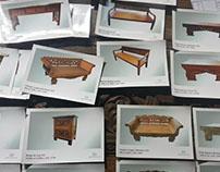 Muebles con estilo de Indonesia