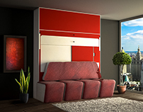 Convertible Furniture Digital Presentation Model
