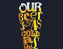Our beer is as cold