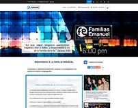 Ministerio Emanuel | Identidad Visual / Web