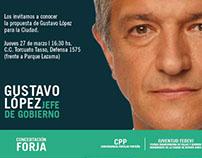 Gustavo López - Jefe de Gobierno Ciudad de Buenos Aires