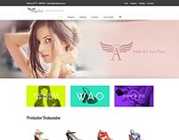 Página web Calzado Ángeles