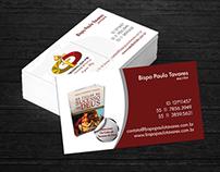 Cartão de Visitas Bispo Paulo Tavares