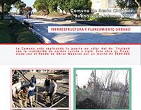 Diseño e impresión de revista institucional comunal