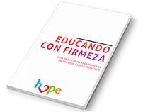 """Diseño editorial  """"Educando con Firmeza"""""""