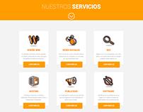 Rediseño website // Símbolo Interactivo