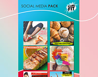 U-life FIT Social Media Pack