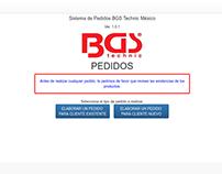 BGS Pedidos