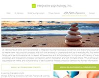Sitio web para psicólogo clinico