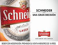 Producción Gráfica. Schneider