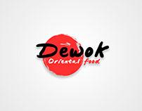 Dewok Oriental Food Logo