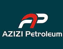 Azizi Petroleum Logo Design