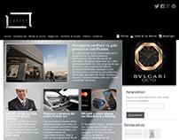 Diseño y programación sitio web Luxury