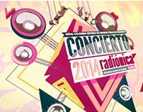 Concierto Radiónica 2014