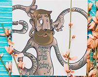 Ilustración- Letras