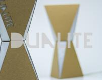 Dualite Cardboard Lamp