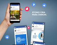 Criação de Conteúdo para as redes sociais da OMRON BR