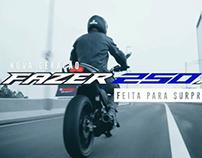 Video Biu Motos Yamaha - Nova Fazer 250