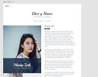 DiezYNueve Tema WordPress para blog - Gratuito