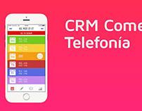 App CRM empresa comercial de telefonía